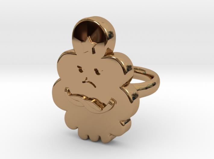Lumpy Space Princess Ring (Small) 3d printed