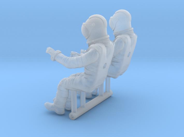 SPACE 2999 1/48 PILOT SET 3d printed
