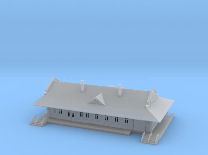 Sterling City Station Texas 3d printed Sterling City Station Texas Z scale