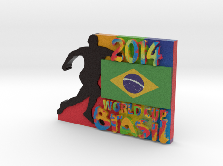2014 World Cup - Brazil 3d printed