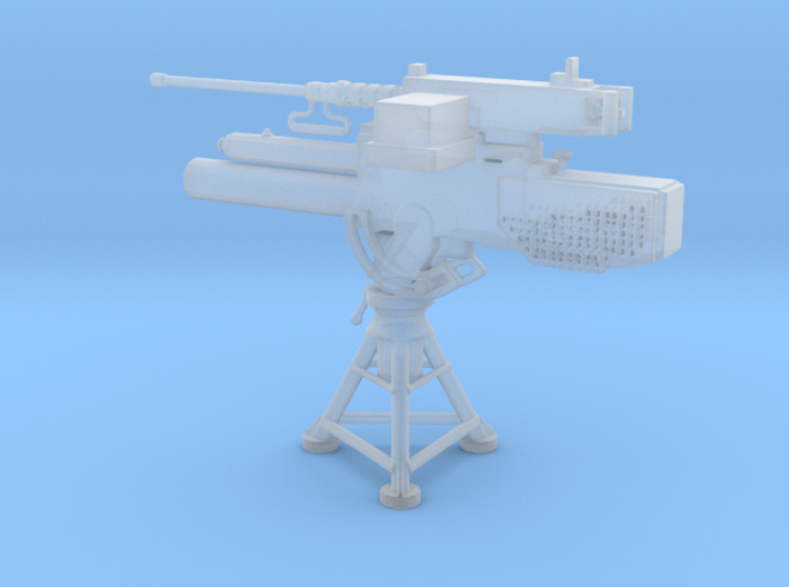 1/32 Scale Mk 2 81mm Mortar with 50 Cal 3d printed