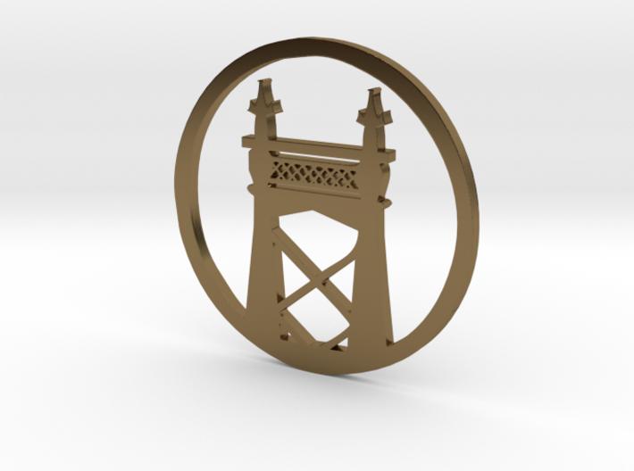 Queensboro Bridge pendant 3d printed