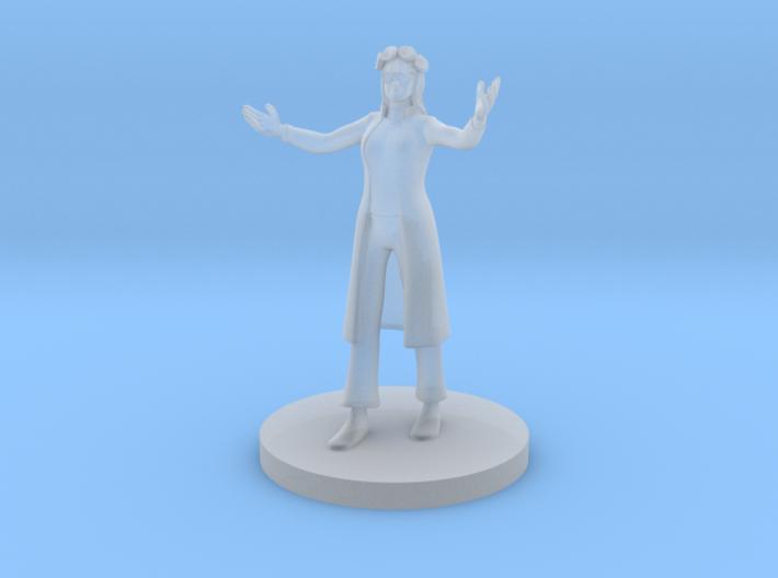Human Female Hippie Bard 3d printed