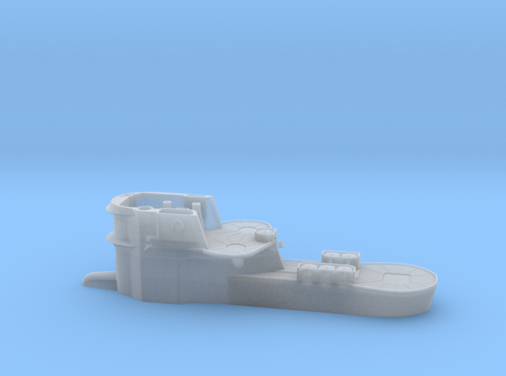 1/100 Uboot Conning Tower IXC U-505 3d printed