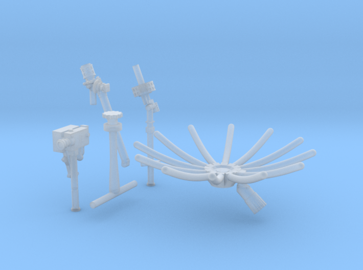 11beg-12a-13a-Antennas and 16 mm camera 3d printed
