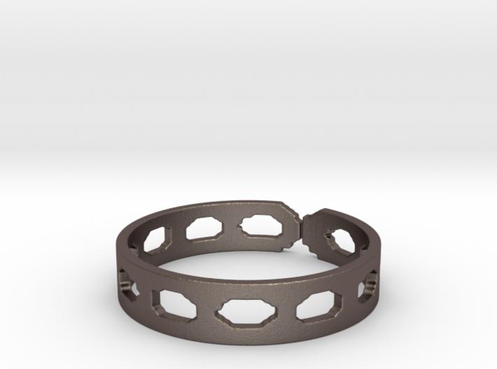 Shuko Circles (Size 10.25) 3d printed