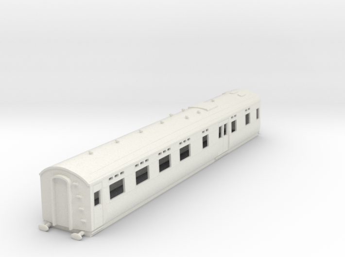 o-76-sr-maunsell-d2650-restaurant-coach 3d printed