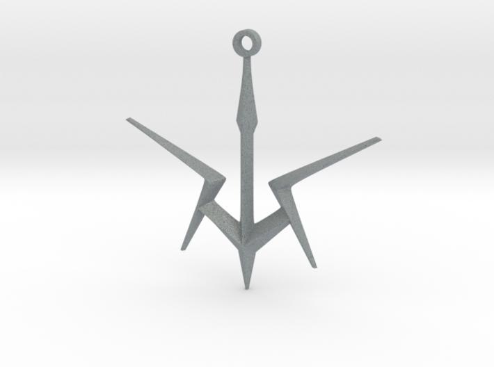 Black Knights Sigil Keychain - Code Geass 3d printed