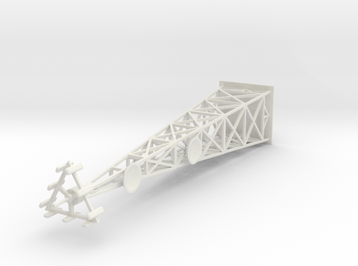 Cell Tower (HO) 3d printed Part # CT-001