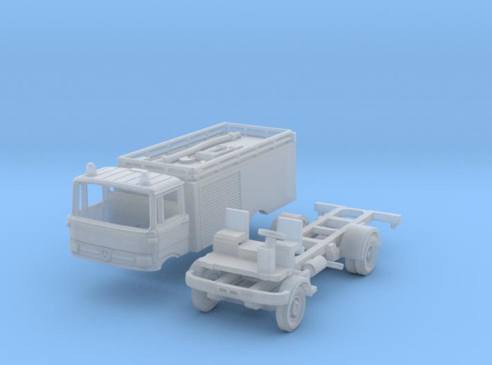 Mercedes-Benz LP 813 Tanklöschfahrzeug (TT 1:120) 3d printed