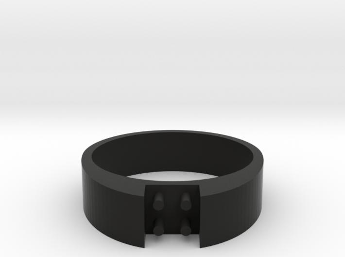 4-bit ring (US7/⌀17.3mm) 3d printed