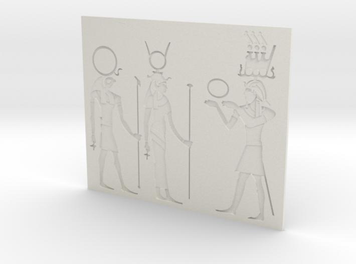 HiEROGLYPHS 3d printed