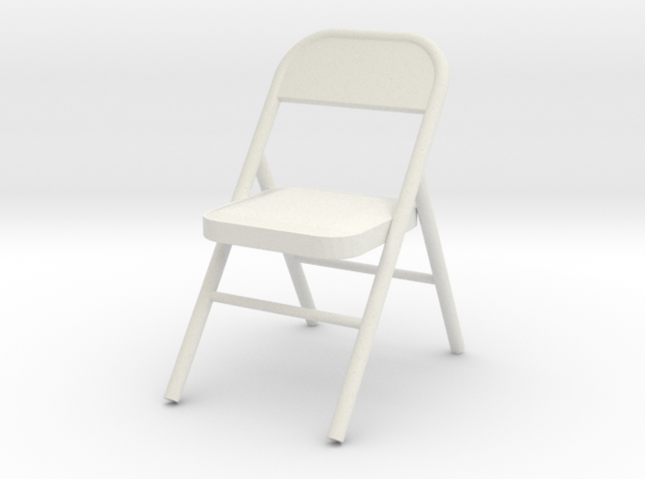 1:24 Metal Folding Chair 3d printed