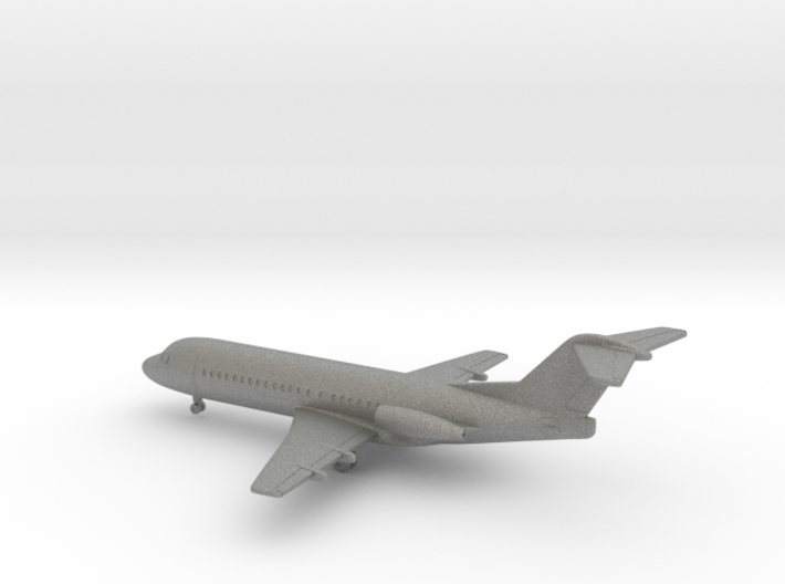 Fokker F28-2000 Fellowship 3d printed