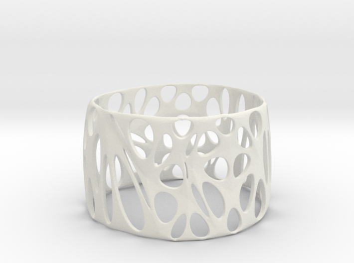 Organic Candle Shade 3d printed