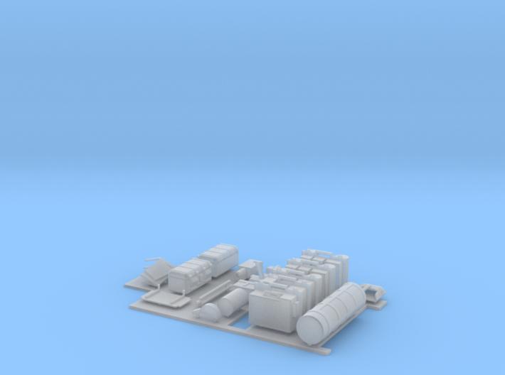 31-J mission - MESA elements 3d printed