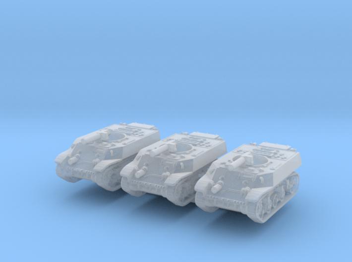 M3A3 Stuart Recce (x3) 1/285 3d printed