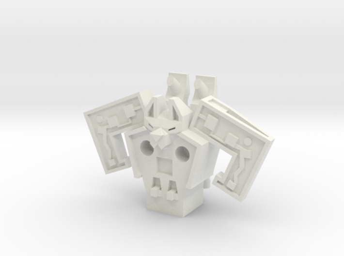 Robot Jet Mouse 3d printed