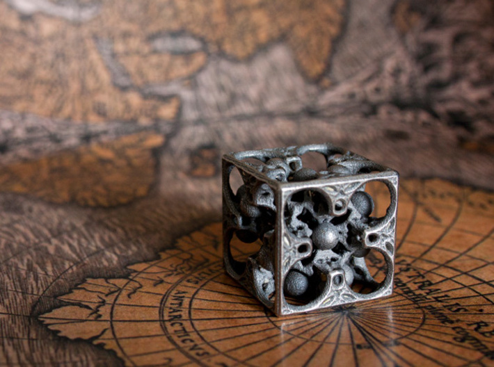 GOD's DICE 3d printed One