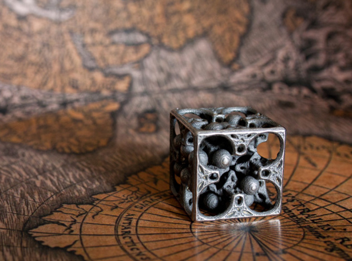 GOD's DICE 3d printed Two