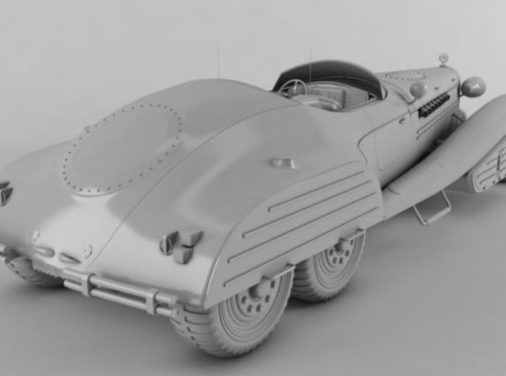 1/24 Hydra Schmidt Roadster Rear Wheels SET x4 3d printed