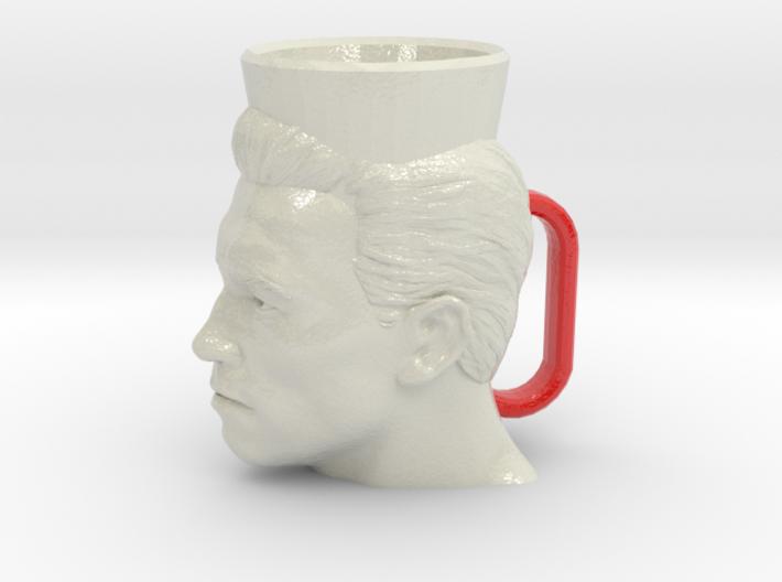 Arnold Schwarzenegger Cofee Cup XL 3d printed