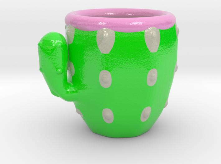 Cactus Cofee Cup 3d printed