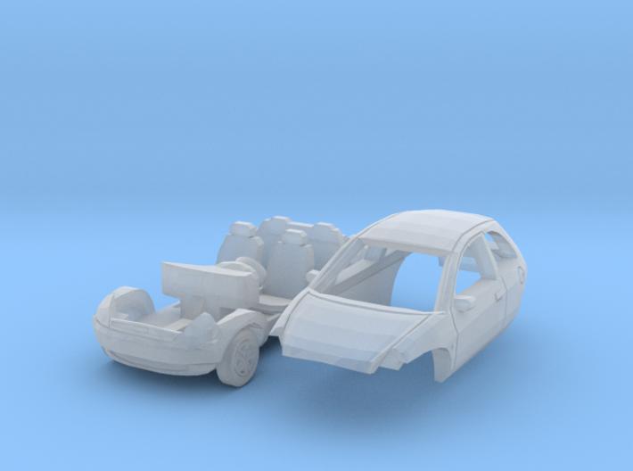 Ford Ka (N 1:160) 3d printed