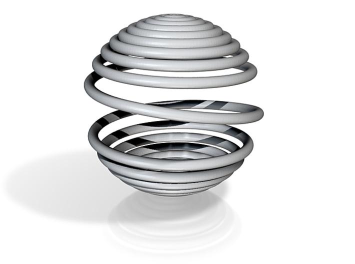Spiral Ball 3d printed