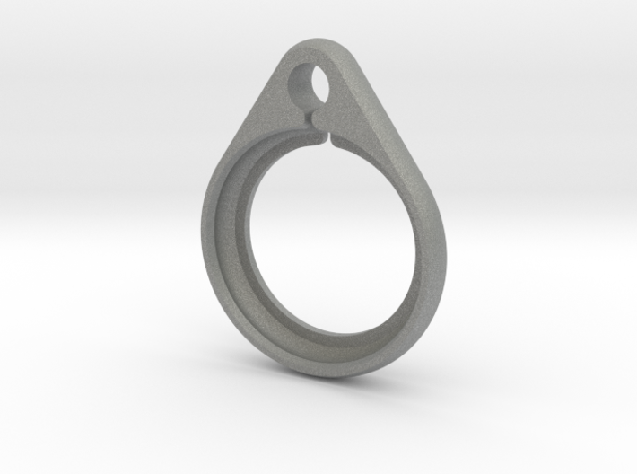 Airtag strong keyring / keychain holder 3d printed