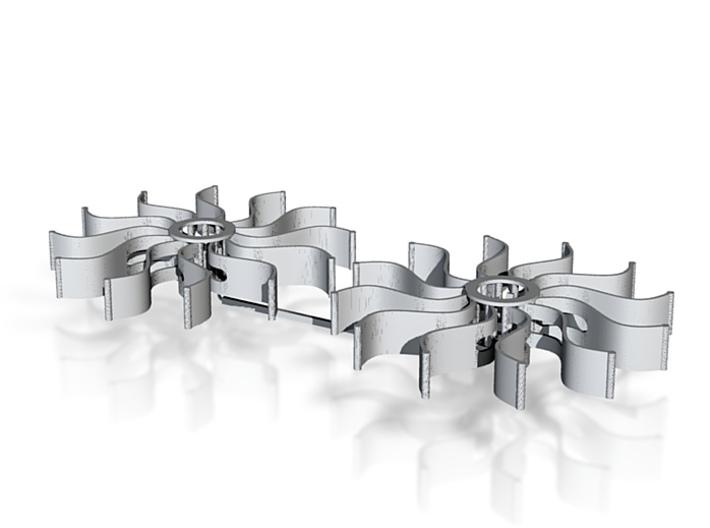 Paddlewheel 3d printed
