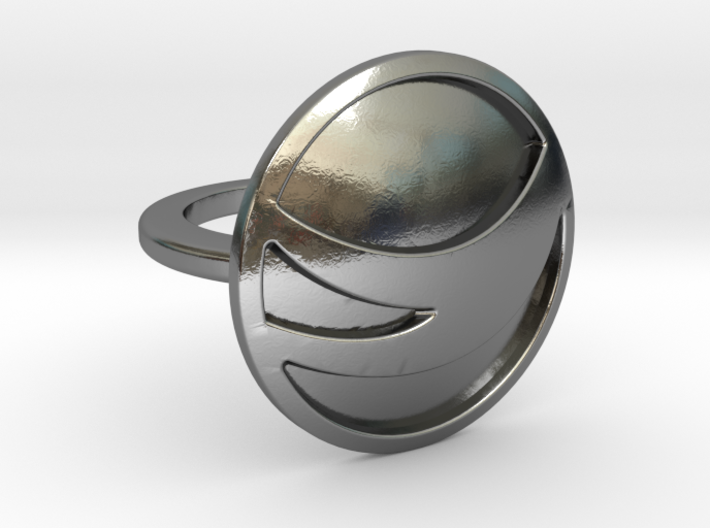 Globemed Ring, Filled 3d printed