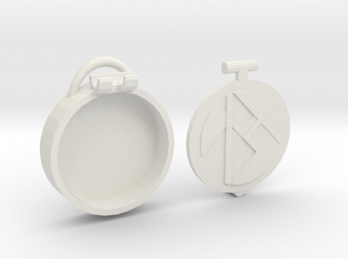 Basic Locket m2 3d printed