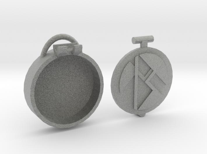 Basic Locket m2 3d printed