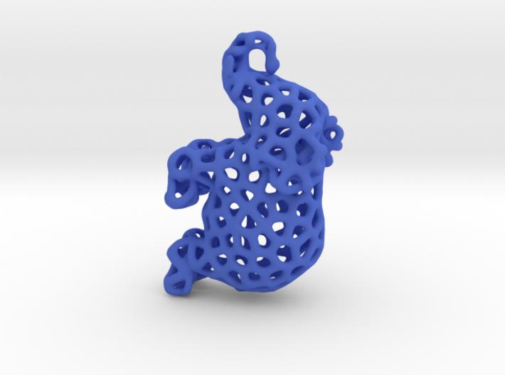 Elephant Pendant 3d printed