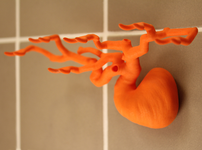 Toothbrush Tree - Six Branched 3d printed