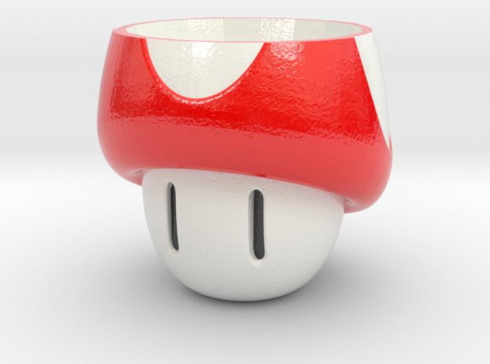 Mushroom Cup 3d printed