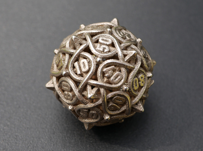 Multiplicitous d10 Decader 3d printed