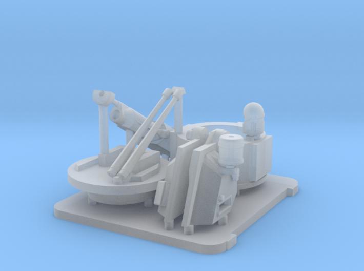 25mm MK38 MOD 2 1/35 Kit x 1 3d printed
