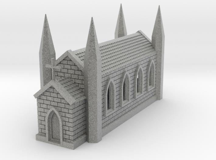 N Scale Church 1:160 3d printed
