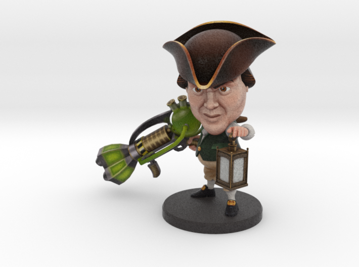 Paul Revere - Ninja Time Pirates 3d printed