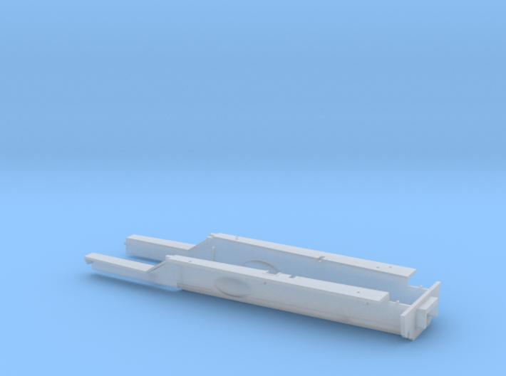 Lotus Type 33 tub for Ebbro's kit 3d printed