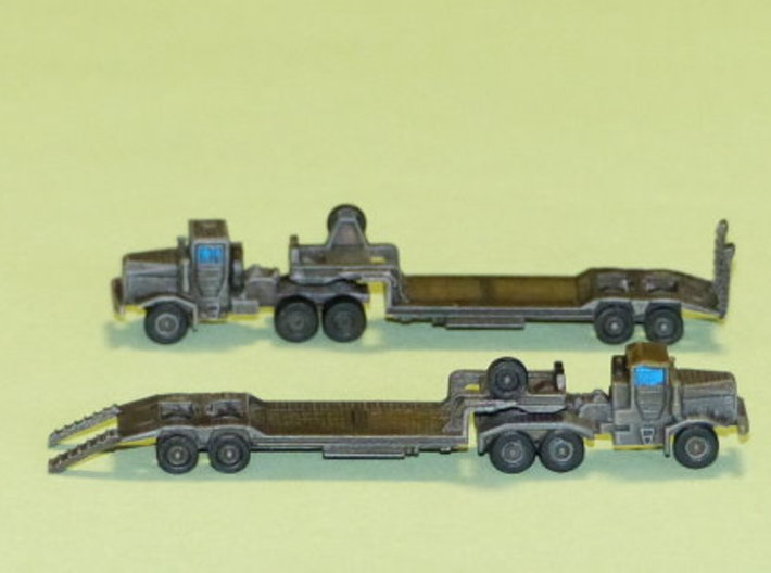 Faun 912 SA Tank Transporter 1/285 6mm 3d printed Add a caption...