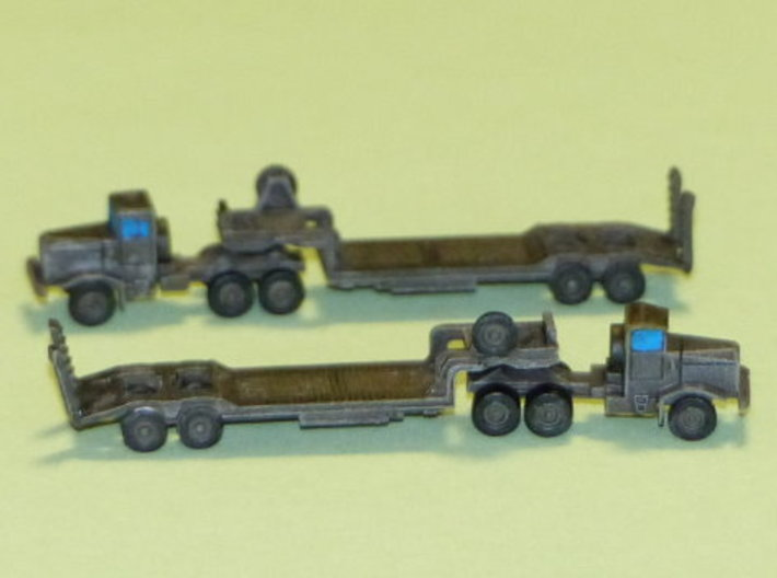 Faun 908 SA / SAT Tank Transporter 1/285 6mm 3d printed Add a caption...