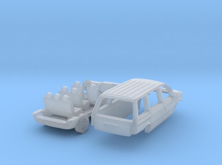 Chrysler Voyager (N 1:160) 3d printed