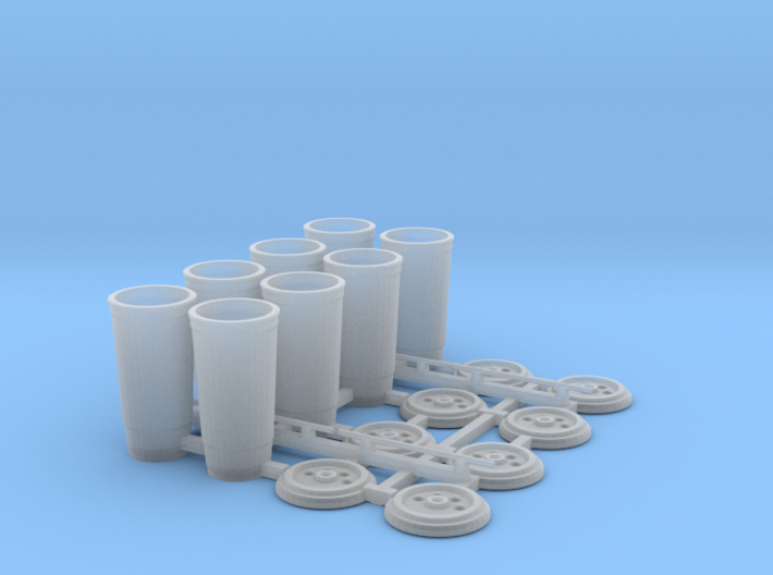 Large Soda Cups 1/12 scale 3d printed