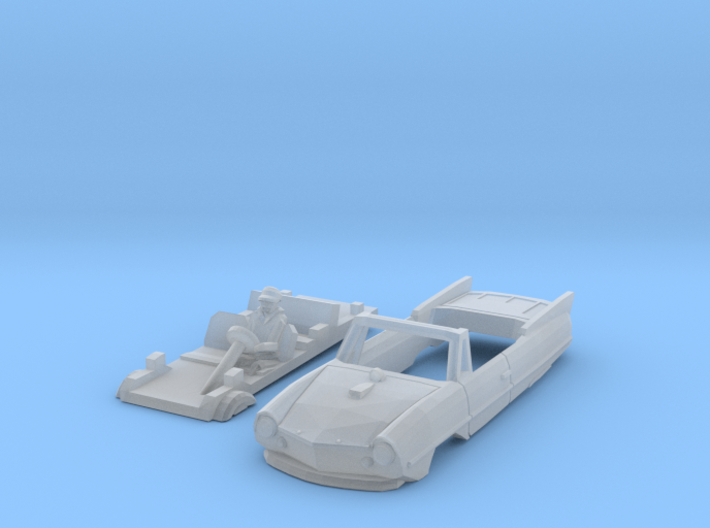Amphicar 770 im Wasser (TT 1:120) 3d printed