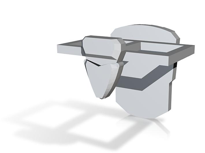Assault Trooper Hip Armor 3d printed
