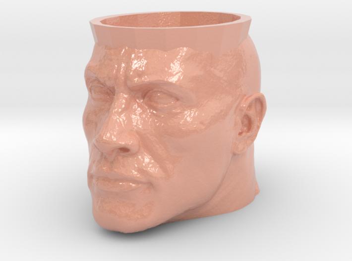 Dwayne The Rock Johnson Cup 3d printed