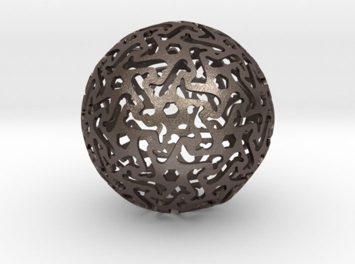 Bone Sphere 3d printed